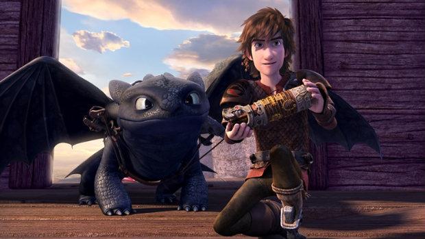 Cenas da primeira temporada da série Dragões: Corrida até o limite, spin-off de Como treinar seu dragão - Foto: Netflix/Divulgação (Foto: Netflix/Divulgação)