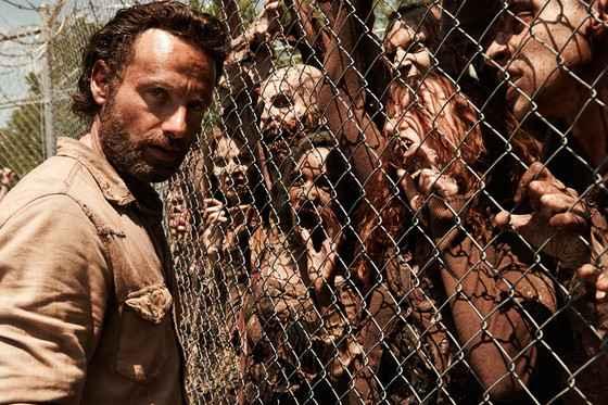 Protagonista Rick Grimes é interpretado por Andrew Lincoln. Foto: AMC/Divulgação