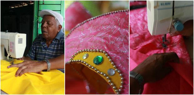 O Clube Carnavalesco Misto Pão Duro comemora 100 anos neste carnaval. Fotos: Brenda Alcântara/DP