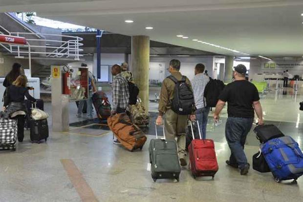 Dica é que as pessoas verifiquem o que pode entrar ou não em cada país antes de embarcar. Foto: Gustavo Moreno/CB/D.A. Press