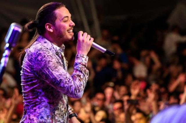 Wesley Safadão grava CD de Verão em primeiro show no sul do Brasil. Foto: Reprodução/Facebook
