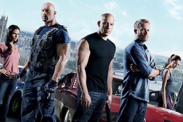 Elenco contra com astros como Vin Diesel, Dwayne Johnson e Paul Walker. Foto: Universal/Divulgação