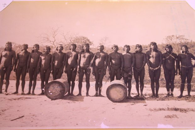 A obra revela como o Sertão era habitado pelos índios, considerados nômades pelo fato de precisarem de todo o espaço necessário para sobreviver à ocupação violenta dos colonizadores brancos. Crédito: Arquivo/DP
