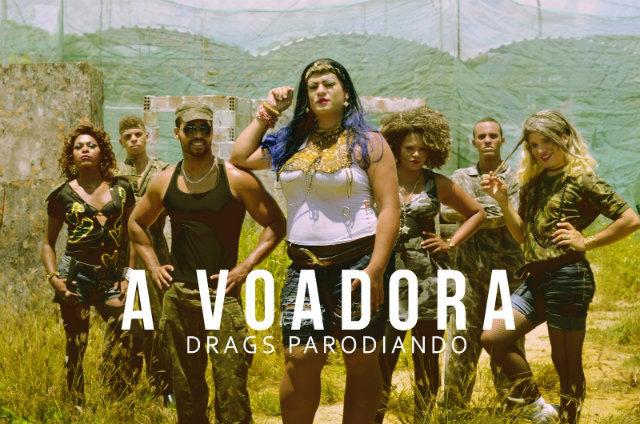 Grupo Drags Parodiando lança versão pernambucana para música favorita ao hit do carnaval 2016. Foto: Carlos Rafael/Criativo Filmes/Divulgação