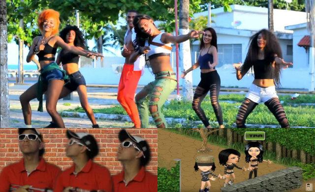Na web, candidata a hit do carnaval ganhou as mais variadas versões. Foto: Reprodução/Youtube