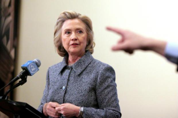 A pré-candidata democrata à presidência americana Hillary Clinton. Foto: Yana Paskova/GETTY IMAGES/AFP