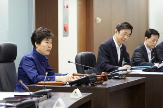 A presidente sul-coreana, Park Geun-Hye, disse que disparo do foguete  viola várias resoluções das Nações Unidas, supõe um novo desafio para a comunidade internacional. Foto: YONHAP/AFP YONHAP