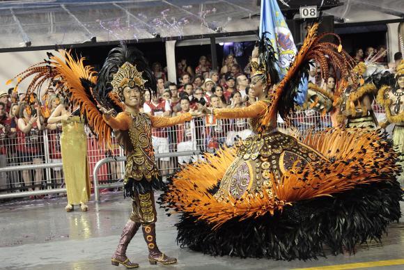 Escola de samba Império de Casa Verde é a campeã do carnaval paulista de 2016. Foto: Marcelo Pereira/LIGASP/Fotos Públicas