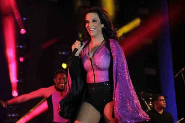 Este seria o último ano da cantora no Arrastão. Foto: Luiz Fabiano/Divulgação