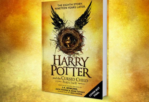 Capa provisória foi apresentada no  Pottermore. Crédito: Reprodução