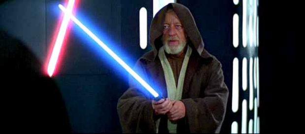 Roupa usada por Alec Guinness na interpretação de Obi-Wan Kenobi em ''Star Wars'' foi vendida por uma fortuna. Foto: Star Wars/Reprodução