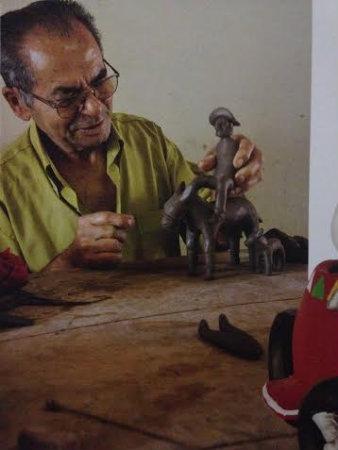 Manuel Eudócio começou a criar aos 8 anos - Foto: Reprodução (Foto: Reprodução)