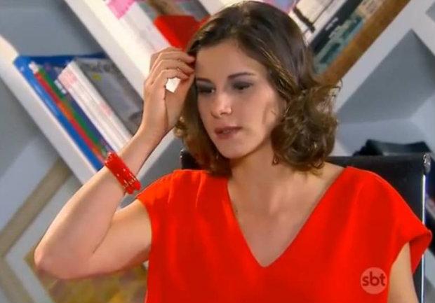 Dani Moreno interpreta Safira - Foto: SBT/Divulgação (Foto: SBT/Divulgação)