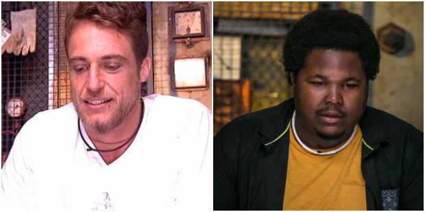 Daniel e Ronan no paredão - Foto: TV Globo/Reprodução (Foto: TV Globo/Reprodução)