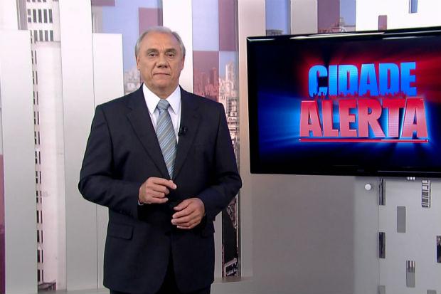 Marcelo Rezende comanda o Cidade Alerta desde 2012 na Record. Foto: Divulgação