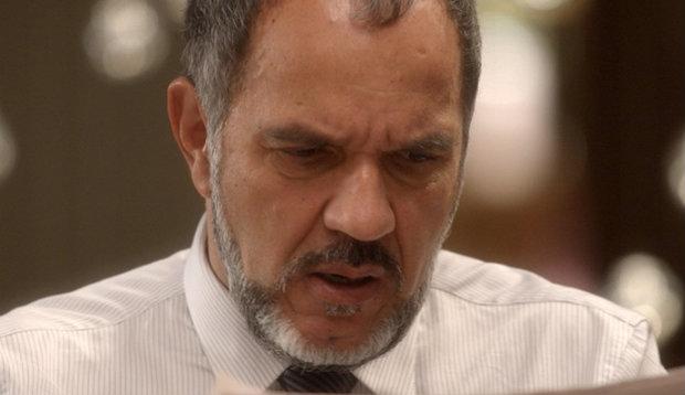 Humberto Martins interpreta Germano. Foto: TV Globo/Divulgação (Globo/Divulgação)