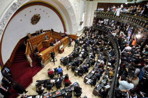 A Assembleia Nacional da Venezuela, em Caracas, no dia 4 de fevereiro de 2016 © AFP JUAN BARRETO