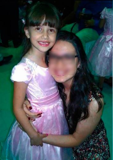 O corpo de Beatriz foi encontrado em depósito. Foto: TV Clube/Reprodução.