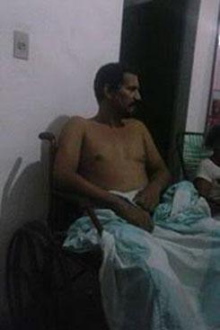 Ivaldo Alves procurou a UPA Sotave três vezes onde foi diagnosticado com virose. Foto: Arquivo Pessoal