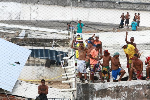 Pernambuco tem uma lotação de 265% em suas penitenciárias e centros de detenções. Foto: Bernardo Dantas/DP/Arquivo