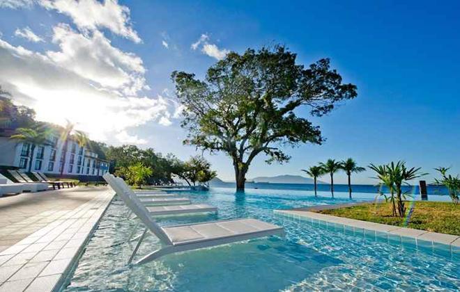 Na ilha de Itaparica, na Bahia: relax sem pensar na conta. Foto: Ion Turismo/Reprodução