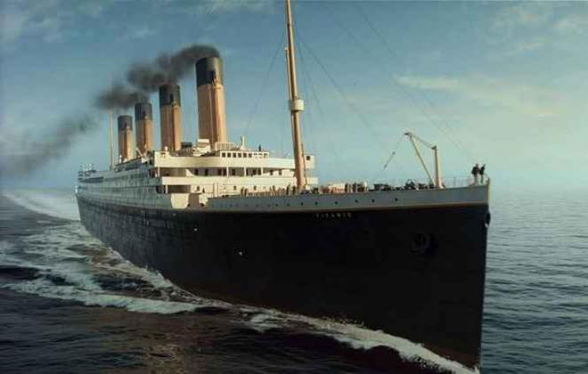 O Titanic II, com capacidade para 2,4 mil passageiros, partirá da Inglaterra para os Estados Unidos. Foto: Engineer Pal/Reprodução