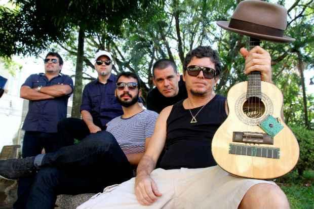 Banda comandou trio no Galo da Madrugada deste ano. Foto: Kickante/Divulgação