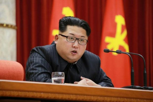 O líder norte-coreano Kim Jong-Un, em Pyongyang, no dia 13 de janeiro de 2016. Foto: KNCA © KCNA/AFP/Arquivos KCNA