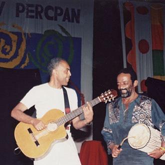 Foto de Gilberto Gil com Naná foi compartilhada nas redes sociais. Foto: Twitter/Reprodução