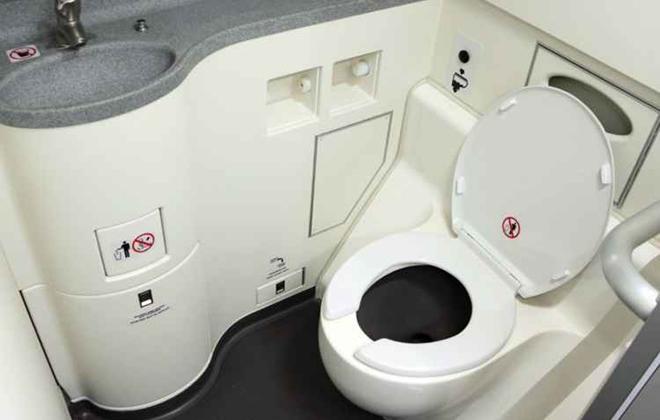 O projeto de banheiro futurista também inclui dispositivos automáticos. Foto: Reprodução