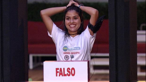 Munik venceu nova prova de quiz. Foto: TV Globo/Divulgação (Foto: TV Globo/Divulgação)