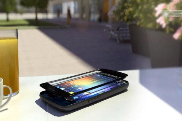 A tela poderia ser usada normalmente e a transparência não iria atrapalhar o usuário, segundo a empresa. Foto: Sunpartner Technologies/Divulgação.
