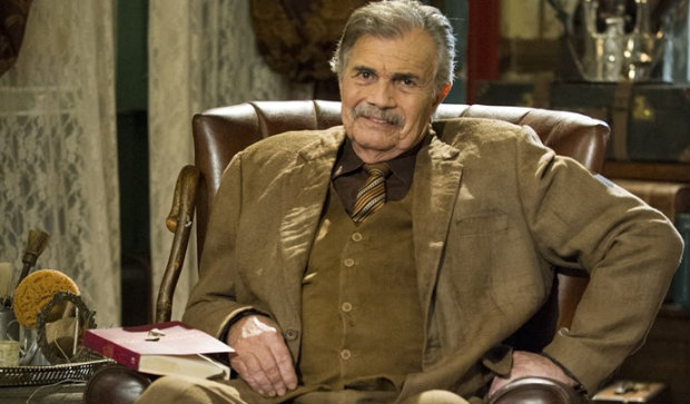 Tarcísio Meira interpreta coronel Jacinto. Foto: TV Globo/Divulgação (Foto: TV Globo/Divulgação)