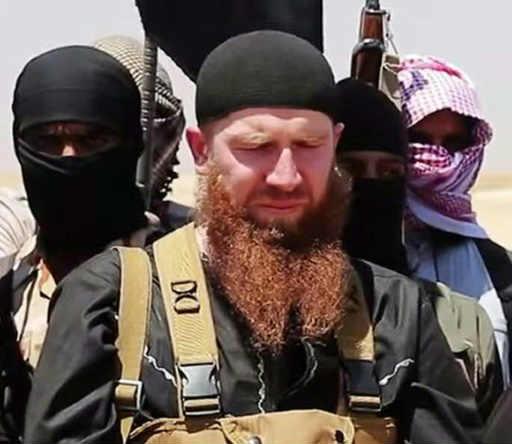 O anúncio põe fim às dúvidas sobre o destino de Omar al-Shishani. Foto: Al-Itisam Media/Arquivo/AFP