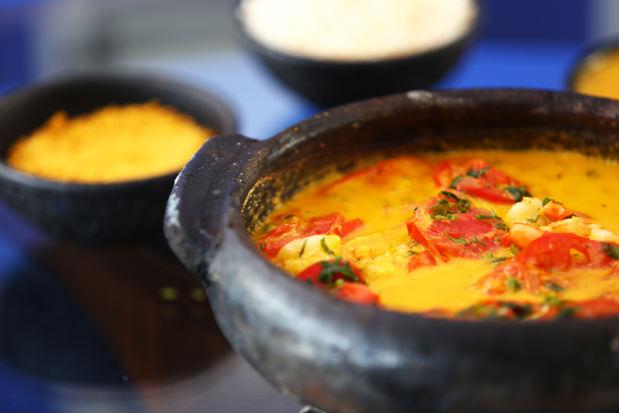 A moqueca é um dos pratos ensinados durante o curso. Foto: Peu Ricardo/Esp. DP