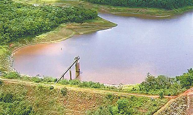 Barragem de Botafogo está com apenas 18,42% da capacidade de armazenamento. Foto: Google/ Reprodução/ Internet