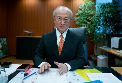 Yukiya Amano alerta membros sobre importância de reforçar a segurança atômica. Foto: Joe Klamar/AFP