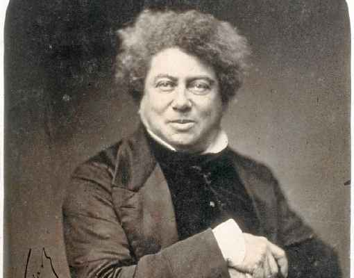 Alexandre Dumas pai: filho de aristocrata e mãe escrava, ele se distinguiu na França revolucionária. Foto: Divulgação