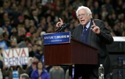 Para superar Clinton, Sanders é obrigado a vencer por uma larga margem as primárias que restam. Foto: Jason Redmond/AFP