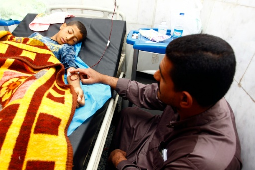 Dezessete pessoas mortas são meninos com idades entre 10 e 16 anos. Foto: Haidar Hamdani/AFP