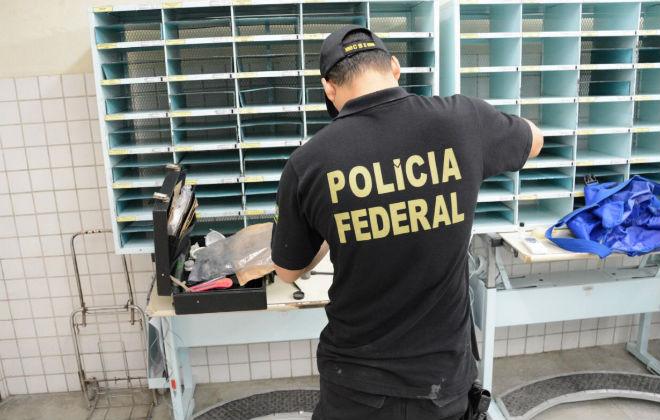 Polícia Federal enviou uma equipe ao local para dar início às investigações. Foto: PF/ Divulgação