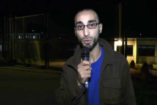Imagem retirada de um vídeo publicado em 2014 mostra Fayçal Cheffou, identificado como um dos suspeitos pelos ataques em Bruxelas. Foto: Reprodução/Youtube/Arquivo/AFP