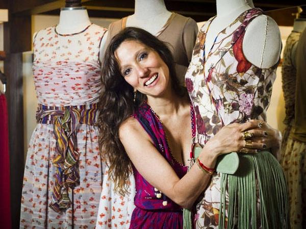 Isabela Capeto é ícone da moda romântica. Foto: Fernando Fraz/Divulgação