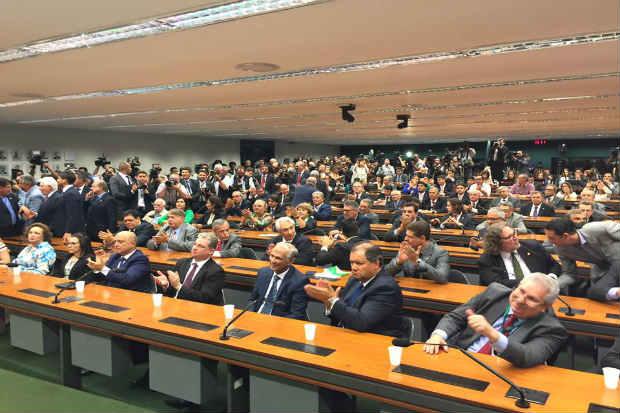 O partido determinou também que todos os seis ministros que são do partido entreguem os cargos. Foto: Facebook/Reprodução.