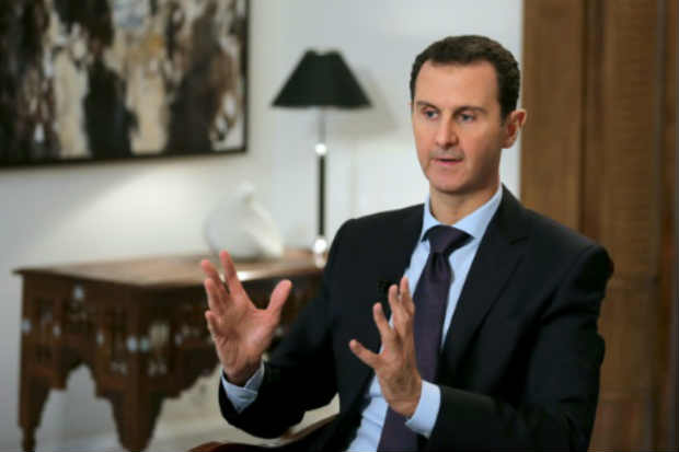 O presidente sírio, Bashar al-Assad. Foto: Joseph Eid/AFP