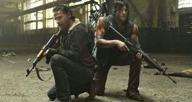 Rick e grupo seguem para Alexandria na quinta temporada de The Walking Dead. Foto: AMC/Divulgação