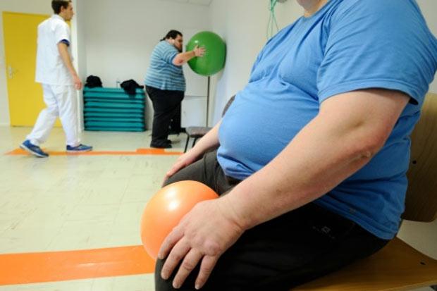 Mais de um em cada dez adultos no mundo é obeso, o dobro do que há 40 anos, e a proporção voltará a duplicar até 2025. Foto: Jean-Sebastien Evrard/AFP