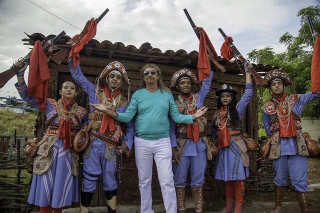 Novo disco resgata canções da obra de Assisão que falam do cangaço e de histórias conhecidas da região. Foto: Álvaro Severo/Divulgação