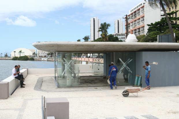 (Espaço ganhará novos elementos arquitetônicos e sustentáveis. Foto: Julio Jacobina/DP)