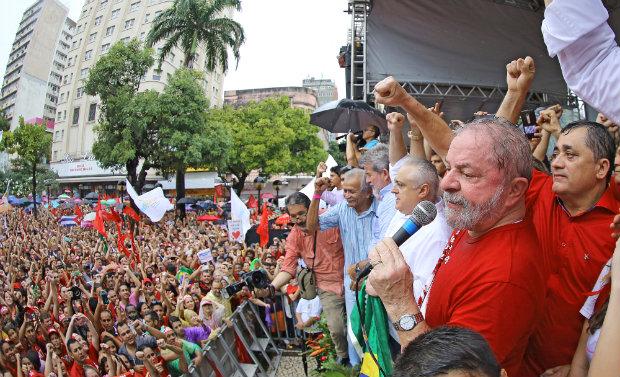 Foi a primeira vez que o petista criticou diretamente o vice. Foto: Ricardo Stuckert/Instituto Lula (Foto: Ricardo Stuckert/Instituto Lula)